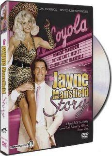 The Jayne Mansfield Story DVD Loni Anderson Arnold Schwarzenegger NEW