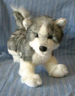 NWT Douglas Plush Toy Purebred 16 SASHA SIBERIAN HUSKY PUPPY DOG
