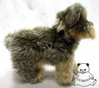 Yetti Yorkie Yorshire Terrier Dog Douglas Cuddle Plush Toy Stuffed