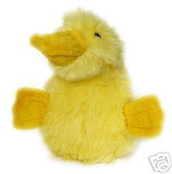 Duckworth Family Webster Large Yellow Plush Dog Toy