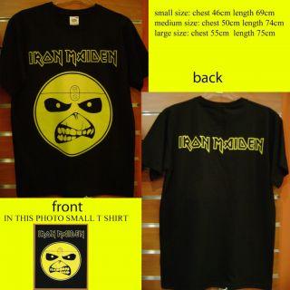 Iron Maiden Eddie Smile T Shirt Medium