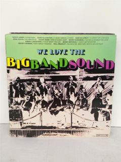 We Love The Big Band Sound Duke Ellington Cab Calloway Krupa Vinyl