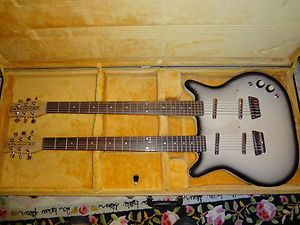 Danelectro Double Neck Bass Guitar Very Nice