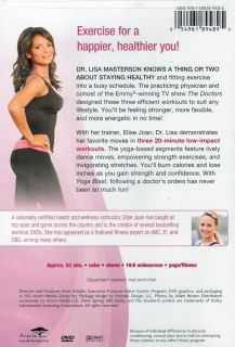 Dr Lisa from The Doctors Workout DVD Yoga Blast New SEALED Cardio