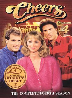 Cheers The Complete Fourth Season DVD 2005 4 Disc Set