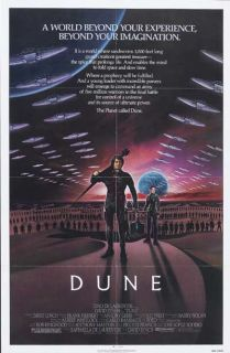 Dune 1984 Orig 27x41 Movie Poster Sean Young Kyle MacLachlan David