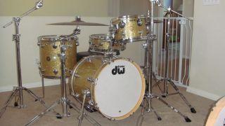DW 4 Piece Jazz Series Drums Mint Drum Workshop Classic Collectors Set