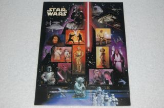 STAR WARS USPS Postal Service Unused New Sheet Lot Stamps 2007 ~ 41