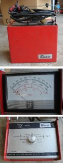 Vintage Snap on MT 418 Automotive Dwell Tach Meter