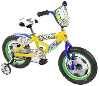 Features of Dynacraft Lil Pro Boys Soccer Bike (14 Inch Wheels)