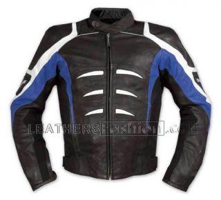 Biker Blacke Safety motorbike Motorcycle Leather Biker Jacket