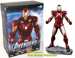 Kotobukiya ARTFX Avengers 1 6 Scale Iron Man Mark VII Statue Model Kit