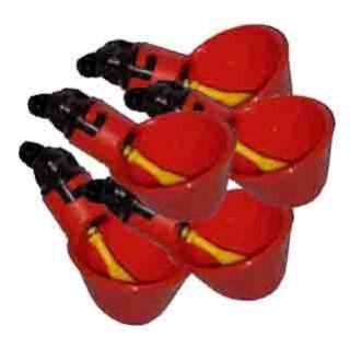 Chicken Water Cups Drinkers Auto Poultry Waterer pressure drink cup