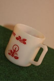 Vintage Holiday Cheer Egg Nog Coffee Mug Cup