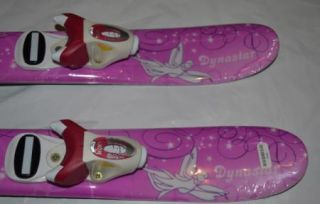 My First Dynastar Skis Girls Skis 67 cm Pink Skis 67cm with Roxy T4