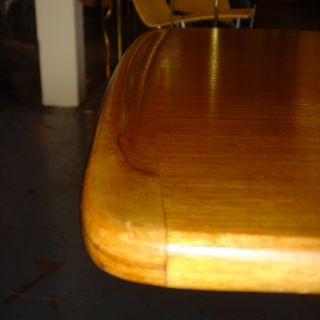 Solid Teak Coffee Table by Tove and Edvard Kindt Larsen