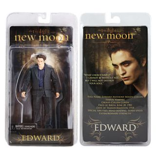 New Moon Twilight Edward Cullen Figure NECA 7 Collectible Vampire