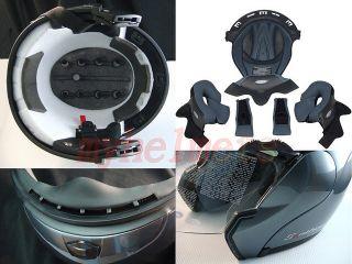 Dual Visor Modular Flip Up Motorcycle Helmet GG1 White M L XL 2XL