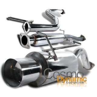 92 95 Honda Civic EG 3DR Hatchback JDM Catback Exhaust