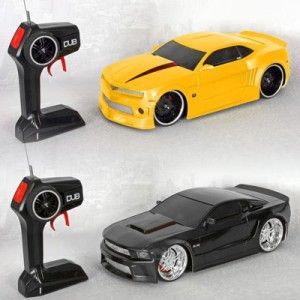 13 Dubs Garage Control Freakz RC w Turbo Boost Black Ford Mustang 5 0