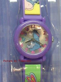 Eeyore and Pooh Double Bell Alarm Clock and Watch Set