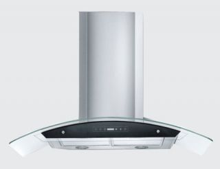 36 Kitchen Stainless Steel Wall Mount Style Range Hood Vent Ductless