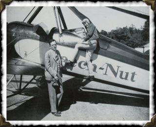 Amelia Earhart George Putnam 11 x 14 Print Beech Nut Gyro Plane