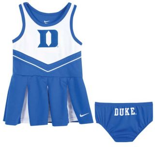 Duke Blue Devils Baby Infant Nike Cheerleader Dress with Bloomers Sz