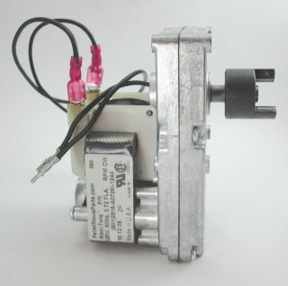 Cup Feeder Motor for Earth Stove Pellet Stove 1 2 RPM