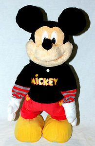 Dance Star Mickey Mouse Interactive Singing Dancing Musical Toy