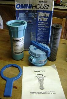 New Omni House Water Filter System Model U24