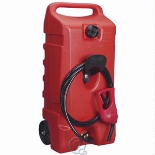 Duramax 14 Gallon Portable Gas Pump Flo N Go Fuel Tank w 10 Hose