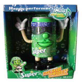 Singer Funny Singing Dancing Coke Can Toy for Kids Children