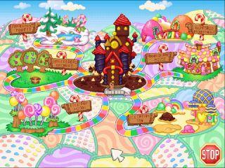 Candy Land Adventure 1Click XP Vista Windows 7 Install 608610990126