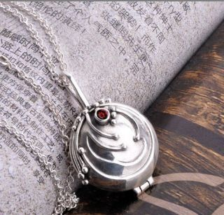 Vintage Vampire Diaries Elena Vervain Pendant Necklace Vervain