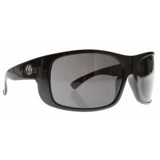 Electric Blaster Sunglasses Gloss Black Grey Lens