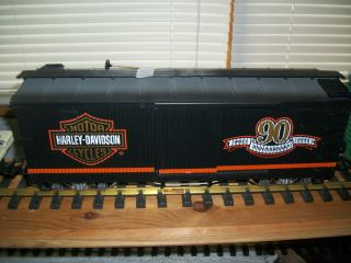 LGB G SCALE L G B HARLEY DAVIDSON CAR GREAT SHAPE WITH BOX and METAL