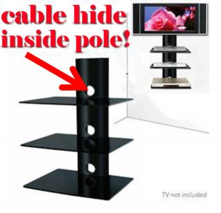 Shelf Wall Mount Dvd Bluray Player, Sat. Box, Direct TV Box,Cable