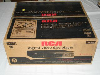 RCA RC5231Z DVD Player + ORIGINAL BOX + UNIVERSAL REMOTE CONTROL