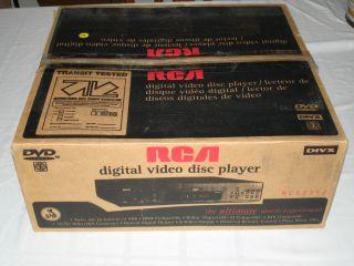 RCA RC5231Z DVD Player + ORIGINAL BOX + UNIVERSAL REMOTE CONTROL