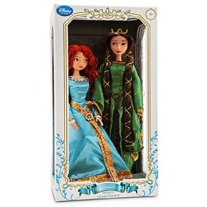 Disney Princess Merida Elinor Dolls Brave 17 Deluxe Limited Edition
