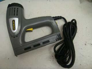 Stanley Electric Staple Nail Gun Nailer Stapler TRE550