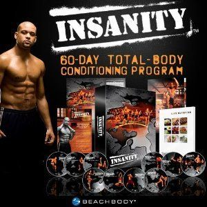 Insanity Complete Workout 13 DVDs