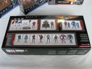 HALO REACH 6 Figure LOT Spec Ops, Spartan, Invasion, UNSC Trooper MIB