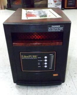 GEN 4 EdenPURE Infrared Quartz Space Heater 1 Year Warranty