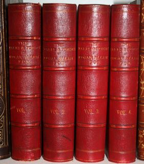 Period 1885 4 Vols Tales and Poems of Edgar Allan Poe