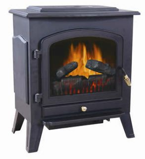 Shilo Electric Stove Fireplace Heater from World Marketing FULLY