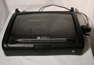 GE Table Top Grill Griddle Electric Grill Model 169110
