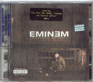 Eminem The Marshall Mathers LP SEALED CD PA not Edited