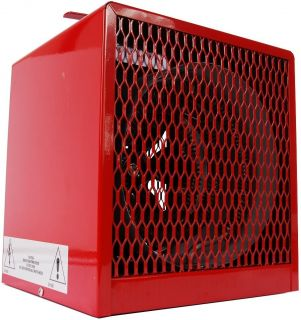 Dayton L4000 Electric Heater Optimized Space Heating Heavy Duty Design